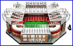 Old Trafford 10272 Manchester United Stadium 3898 Blocks Soccer Football Kid Toy
