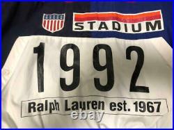 POLO 1992 STADIUM Original Jacket Ralph Lauren Vintage M Size A616