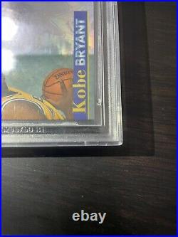 POP 9! Kobe Bryant 1996-97 Topps Stadium Club MEMBERS ONLY II RC Showcase #RS11