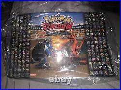 Pokemon Stadium Limited Edition Blockbuster 2000 Master Team Poster Rare NEW