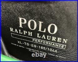 Polo 67 Ralph Lauren Performance Tyvek PWing P93 Stadium Jacket Silver Mens XL