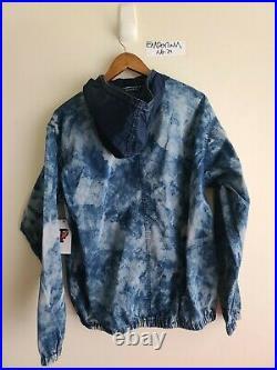 Polo Ralph Lauren 1992 Stadium Limited Edition Indigo Tie Dye Popover Jacket M