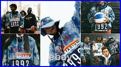 Polo Ralph Lauren 1992 Stadium Limited Edition Indigo Tie Dye Popover Jacket XL