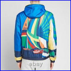 Polo Ralph Lauren 1992 Stadium Sailing Yacht Cross Flags CP-93 Jacket New $628