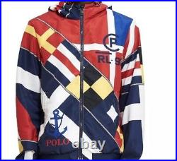Polo Ralph Lauren 1993 Limited Edition Sailing Hooded Jacket 92 CP 93 stadium