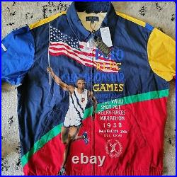 Polo Ralph Lauren Chariots Track Meet Stadium Jacket XXL NWT Crest, Pwing