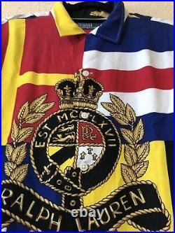 Polo Ralph Lauren Crest X Brownsfashion Limited Edition Sz L Stadium Pwing