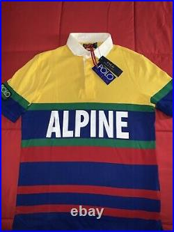Polo Ralph Lauren Hi Tech Alpine Polo Shirt Mens Size Small. P-Wing Stadium 92