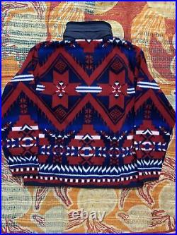 Polo Ralph Lauren Indian Fleece Jacket Anorak Stadium 92 Hi Tech VTG RRL