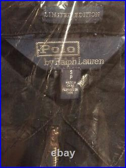 Polo Ralph Lauren Indigo Stadium 1992 P-Wing Denim Jacket MED RL67 Sport NWT