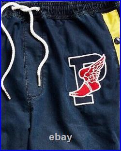 Polo Ralph Lauren Indigo Stadium 1992 Tear Away Pant Hi Tech 67 Sport Sz Med