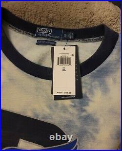Polo Ralph Lauren Indigo Stadium Sweatshirt Sweater P-wing Limited Edition XL