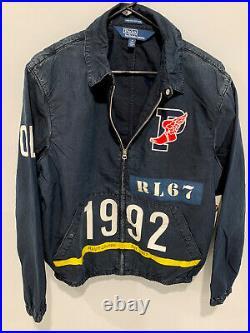 Polo Ralph Lauren Limited Ed. Men's P-Wing Indigo Stadium Denim Jacket, Size M