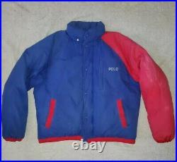 Polo Ralph Lauren Limited Edition 1992 Stadium Downhill Ski Coat rrl 93 vtg L