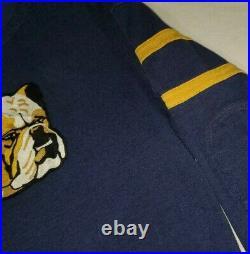 Polo Ralph Lauren Limited Edition Bulldog #5 Football Jersey Sweater stadium L