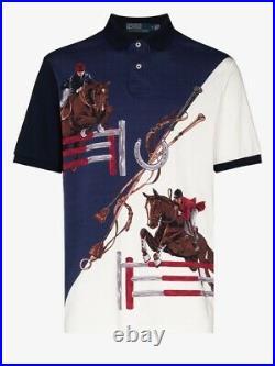 Polo Ralph Lauren Limited Edition Equestrian Jumping Horsemen XL Crest, Stadium