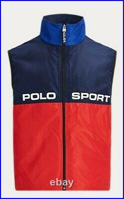 Polo Ralph Lauren Limited Edition Gilet Vest snow beach hi tech cp 93 stadium XL