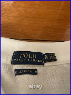 Polo Ralph Lauren Limited Edition Hope Rugby Shirt snow beach stadium 92 rrl L