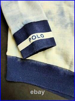 Polo Ralph Lauren Limited Edition Indigo Stadium P-Wing Pullover Sizes S-XL