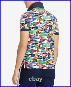 Polo Ralph Lauren Limited Edition Stadium Baseball Bears Pennant Shirt New