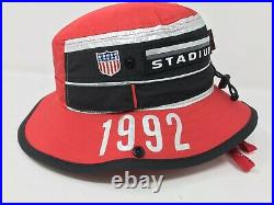 Polo Ralph Lauren Limited Edition Winter Stadium 1992 Pwing Bucket Hat NWT S/M
