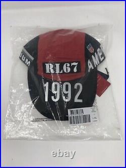 Polo Ralph Lauren Limited Edition Winter Stadium 1992 Pwing Cap Hat NWT L/XL