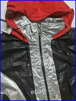 Polo Ralph Lauren Marsh Metallic Stadium P-Wing Coat Jacket Small MSRP $798