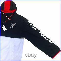 Polo Ralph Lauren P-Wing 1967 Stadium Half Zip Jacket Hi Tech Mens XL
