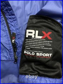 Polo Ralph Lauren Polo Sport RLX Cycle Jacket Stadium 92 Hi Tech VTG RRL