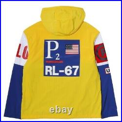 Polo Ralph Lauren RL CP-93 Limited-Edition $365 Pullover 92 Yellow M P2 Stadium