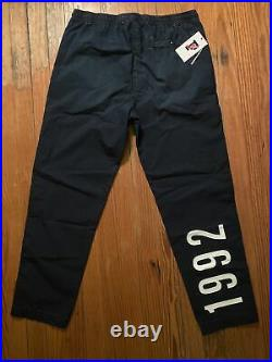 Polo Ralph Lauren Track Pants Stadium P Wing 1992 Denim RARE Limited Edition