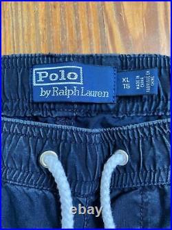 Polo Ralph Lauren Track Pants Stadium P Wing 1992 Denim RARE Limited Edition XL