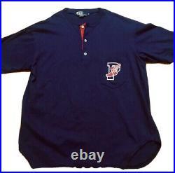 Polo ralph lauren 1992 stadium p wing Raglan Og Rare Limited Edition Medium