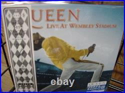 QUEEN Live at Wembley Stadium 86 REPLICA TO THE ORIGINAL LP Sealed JAPAN OBI CD