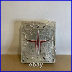 Quake III 3 Arena Limited Metal Tin Edition Factory Sealed (PC Version) 1999