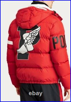 Ralph Lauren Limited Edition Winter Stadium Down Coat Red Small RRP £799