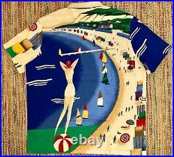Ralph Lauren Polo CP-93 Capsule Shirts XL Regatta Riviera Casino Stadium Lot 92