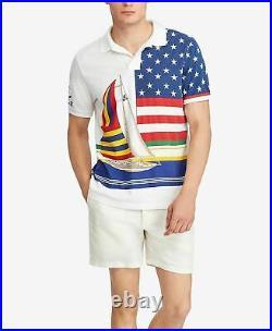 Ralph Lauren Polo CP-93 Regatta Capsule Shirt MEN L Casino Stadium P-wing Indian