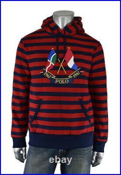 Ralph Lauren Polo Limited Edition 1967 1987 Cross Flags Hoodie Sweatshirt New