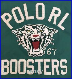 Ralph Lauren Polo RL Boosters Windbreaker Tiger Jacket XL Stadium Indian 92 93