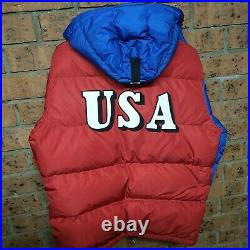 Ralph Lauren Polo Ski 1992 Stadium Sport USA Down Jacket Puffer