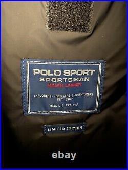 Ralph Lauren Polo Sport Mountain Sportsman Backpack Bag stadium snow beach