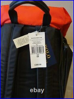 Ralph Lauren Polo Stadium 1992 P Wing Hi Tech Backpack Rucksack Bag Limited