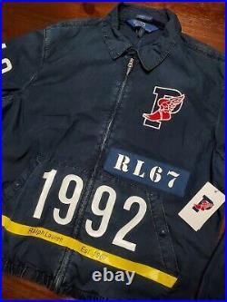 Ralph Lauren Polo Stadium SZ Large 1992 Jacket Limited Edition Indigo Pwing NWT