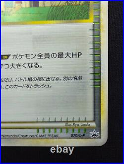 Rare 2010 Japanese Pokemon INDIGO PLATEAU Stadium Prize Holo Promo 070/L-P