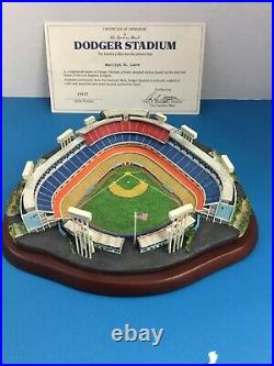 Rare Danbury Mint Dodger Stadium 40th Anniversary Replica Limited Edition