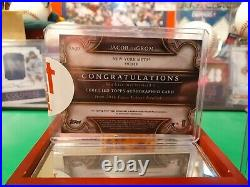 Rare! Jacob Degrom Autographed 2019 Stadium Club Limited Edition #25 Of Only 50