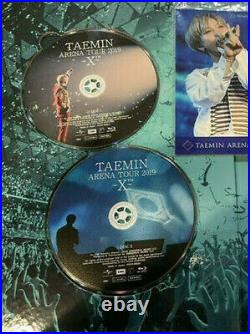 SHINee TAEMIN ARENA TOUR 2019 X FC Limited Edition 2 Blu-ray + Photobook