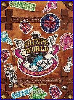 SHINee THE FIRST JAPAN ARENA TOUR SHINee WORLD 2012 DVD Limited Edition New F/S