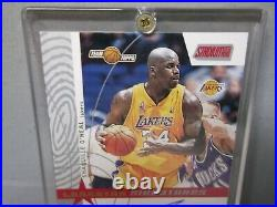 Shaquille O'neal Topps Stadium 2002-03 Certified Autograph issue Limited Edition